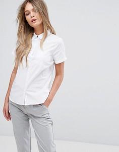 Рубашка с короткими рукавами New Look - Белый