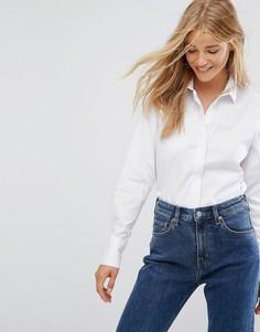 Белая рубашка New Look - Белый