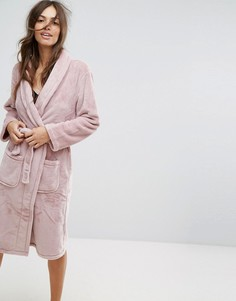Пушистый халат New Look - Розовый