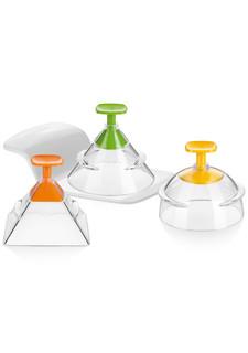 Формочки для придания продуктам 3D-формы PRESTO FoodStyle в комплекте (3 шт.) tescoma