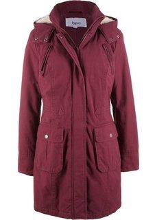 Куртка-парка (темно-бордовый) Bonprix