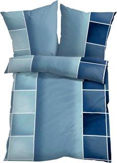 Постельное белье Мики, поликоттон (синий) Bonprix