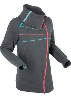 Трикотажная куртка (антрацитовый) Bonprix