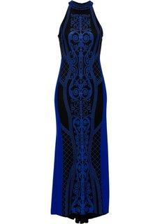 Вечернее платье (синий) Bonprix