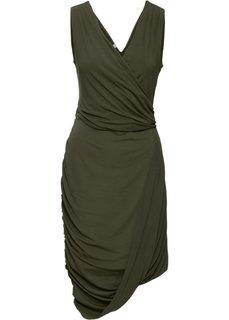 Платье (оливковый) Bonprix