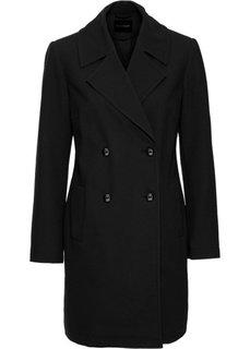 Пальто для межсезонья (черный) Bonprix