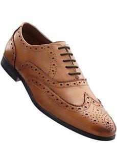 Туфли на шнуровке (коньячный) Bonprix