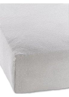 Махровая простыня-чехол для детской кровати (светло-серый) Bonprix