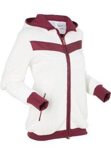 Куртка из нежного флиса (белая шерсть) Bonprix