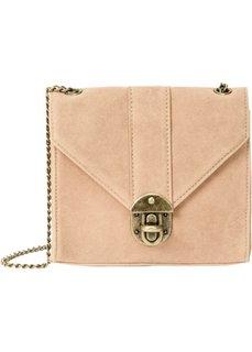 Стильная сумка на ремне через плечо (светло-коричневый) Bonprix