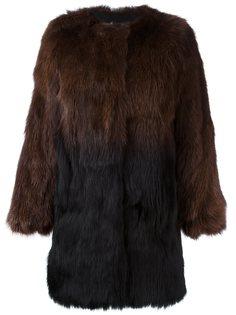 пальто с эффектом градиент  Meteo By Yves Salomon
