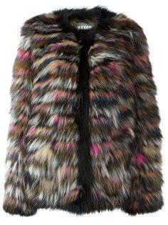 меховая куртка из лисьего меха Meteo By Yves Salomon