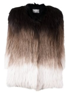 фактурный пиджак с рукавами три четверти Meteo By Yves Salomon
