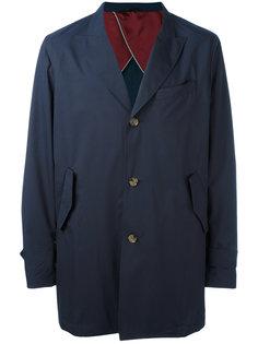 пальто с заостренными лацканами Eleventy