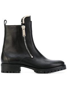 ботинки-челси с двумя молниями Dsquared2