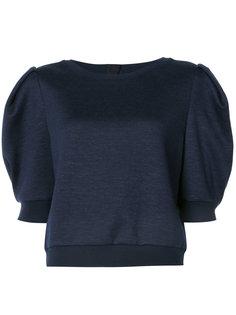 свитер с объемными рукавами  Adam Lippes