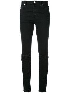 узкие джинсы с липучками Christopher Kane