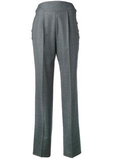 шерстяные брюки с завышенной талией Christopher Kane