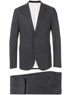 полосатый классический костюм Dsquared2