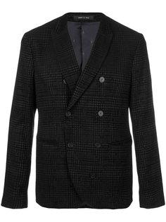 двубортный пиджак Emporio Armani