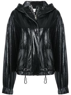 patent hooded jacket Wanda Nylon