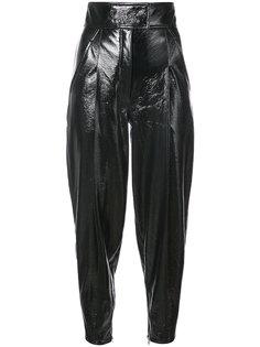 patent tapered trousers Wanda Nylon