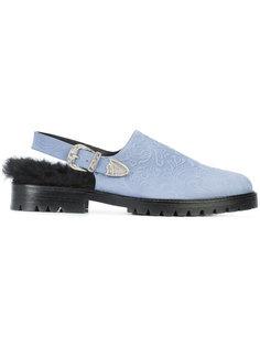 ботинки с ремешком на пятке Toga Virilis