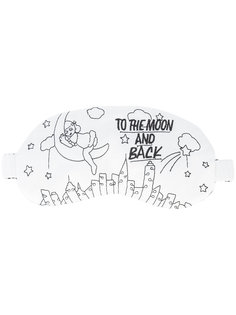 To The Moon sleeping mask  Morgan Lane