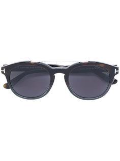солнцезащитные очки в круглой оправе Tom Ford Eyewear