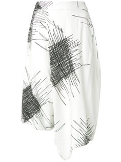 printed wide bermuda shorts Uma | Raquel Davidowicz