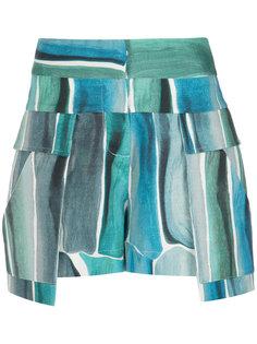 printed shorts Giuliana Romanno
