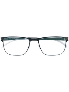 очки в прямоугольной оправе Mykita