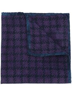 шарф с узором в ломаную клетку Al Duca D'Aosta 1902