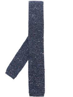 галстук с фактурной выделкой Al Duca D'Aosta 1902