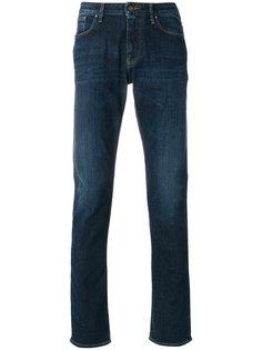 выбеленные джинсы кроя слим Armani Jeans