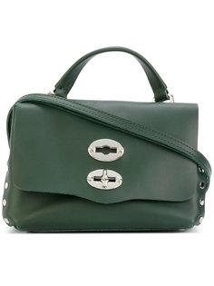 сумка через плечо с заклепками Zanellato