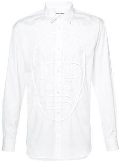 рубашка с вышивкой лица Comme Des Garçons Shirt