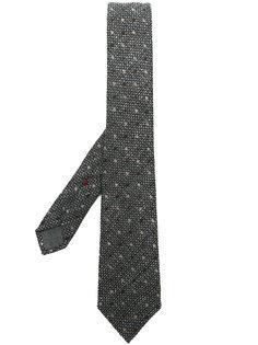 плетеный галстук в горох Brunello Cucinelli