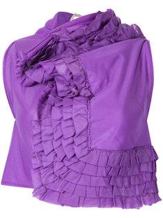 блузка с оборками Comme Des Garçons