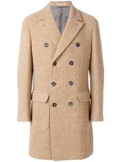 классическое двубортное пальто Brunello Cucinelli