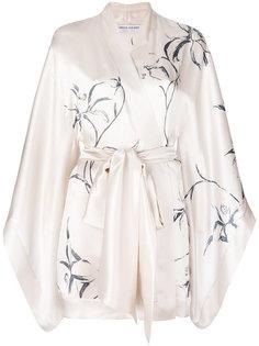 printed short kimono Carine Gilson