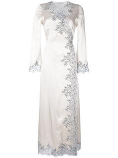 длинное платье Déshabillé Cache-Coeur  Carine Gilson