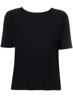 ребристая футболка с круглым вырезом Issey Miyake Cauliflower