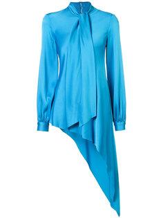 асимметричная блузка Oscar de la Renta