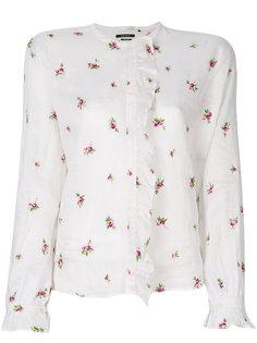 рубашка с вышивкой Uamos Isabel Marant