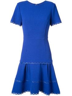 расклешенное платье Oscar de la Renta