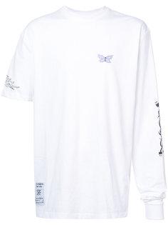 футболка Butterfly с асимметричными рукавами Rochambeau