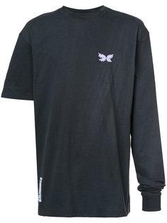 футболка с асимметричными рукавами Rochambeau