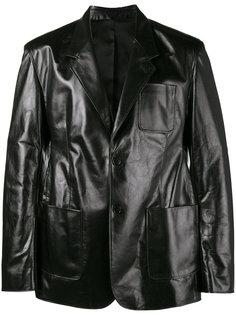 однобортная куртка Balenciaga