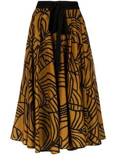 printed midi skirt Andrea Marques